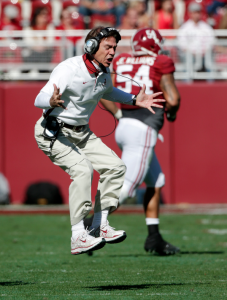 Nick Saban showing the emotional maturity of a 5th grader.